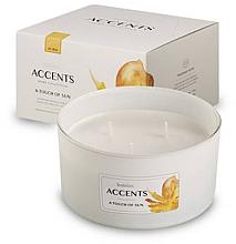 Düfte, Parfümerie und Kosmetik 3-Docht Duftglas A Touch Of Sun - Bolsius Home Collection Accents 75 mm x Ø137 mm