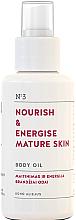 Düfte, Parfümerie und Kosmetik Nährendes und energiespendendes Körperöl für reife Haut - You & Oil Nourish & Energise Body Oil