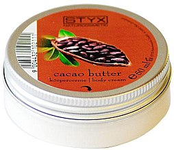 Körpercreme mit Kakaobutter - Styx Naturcosmetic Cacao Butter Body Cream — Bild N2