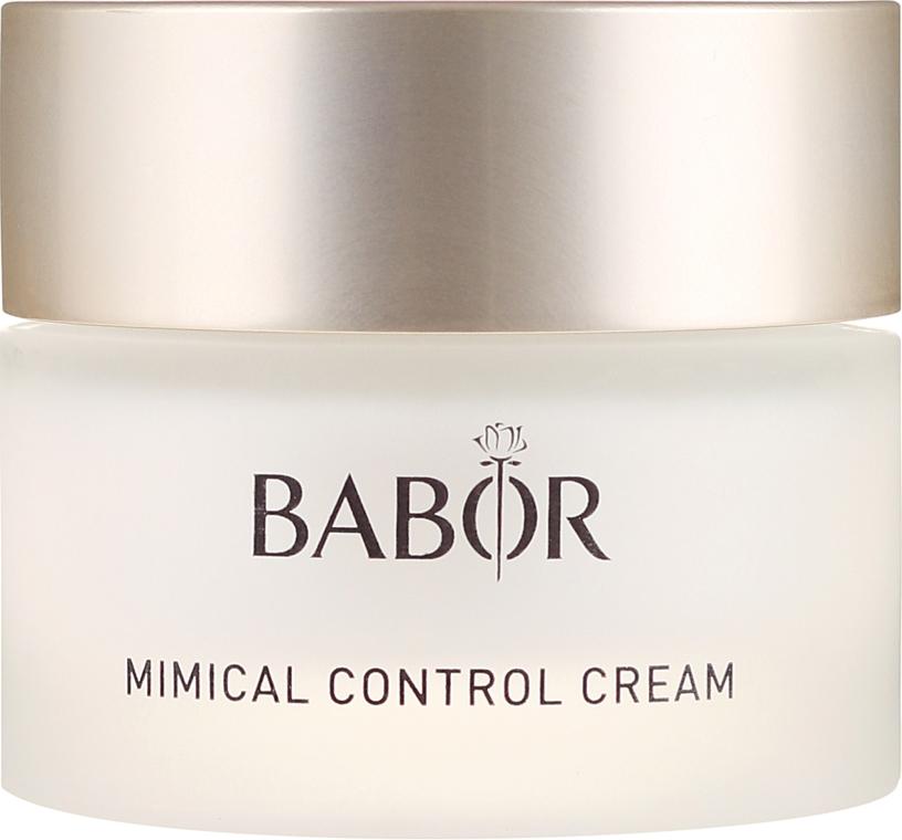 Leichte 24h Pflegecreme zur Reduzierung von Mimikfältchen - Babor Mimical Control Cream — Bild N2