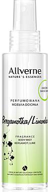 Parfümiertes Körperspray mit Bergamotte und Limette - Allvernum Nature's Essences Body Mist — Bild N1