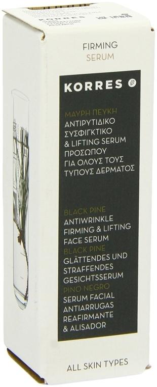 Straffendes Anti-Falten-Serum - Korres Black Pine Antiwrinkle, Firming & Lifting Serum — Bild N4