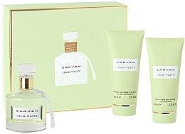 Düfte, Parfümerie und Kosmetik Carven L'Eau de Toilette - Duftset (Eau de Toilette 100ml + Körpercreme 100ml + Duschgel 100ml)