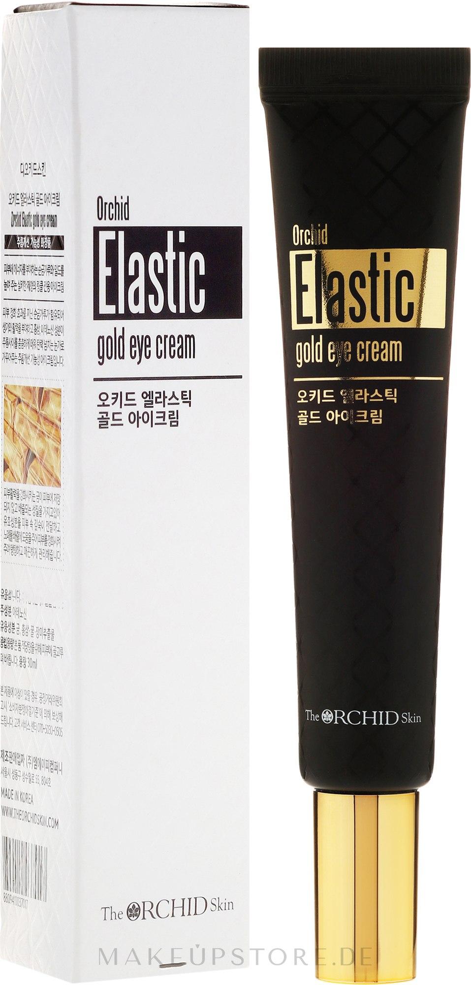 Straffende Augencreme mit Goldpartikeln - The Orchid Skin Elastic Gold Eye-Cream — Bild 30 ml