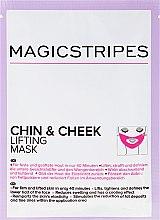 Düfte, Parfümerie und Kosmetik Straffende Maske für die untere Gesichtshälfte und den Wangenbereich - Magicstripes Chin & Cheek Lifting Mask