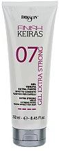 Düfte, Parfümerie und Kosmetik Haargel Extra starker Halt - Dikson Finish Keiras Gel Extra Strong Effetto Cemento Elastino 07