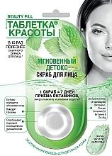Düfte, Parfümerie und Kosmetik Detox-Gesichtspeeling mit Minzextrakt - Fito Kosmetik Beauty Pill