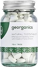 Düfte, Parfümerie und Kosmetik Zahnputztabletten mit Teebaum - Georganics Natural Toothtablets Tea Tree