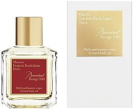 Düfte, Parfümerie und Kosmetik Maison Francis Kurkdjian Baccarat Rouge 540 - Parfümiertes Körperöl