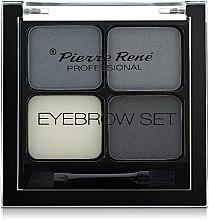 Düfte, Parfümerie und Kosmetik Augenbrauen-Schatten - Pierre Rene Eyebrow Set