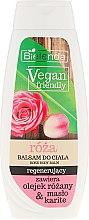 Düfte, Parfümerie und Kosmetik Regenerierende Körperlotion mit Rosenduft - Bielenda Vegan Friendly Regenerating Rose Body Balm