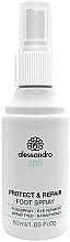 Düfte, Parfümerie und Kosmetik Fußspray mit Panthenol - Alessandro International Spa Protect & Repair Foot Spray