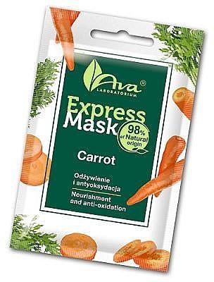 Pflegende und antioxidative Gesichtsmaske mit Karottenextrakt - Ava Laboratorium Beauty Express Mask Carrot — Bild N1