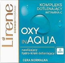 Düfte, Parfümerie und Kosmetik Feuchtigkeitsspendende Tagescreme mit Vitamin C - Lirene Dermo Program Oxy In Aqua Vitamin C