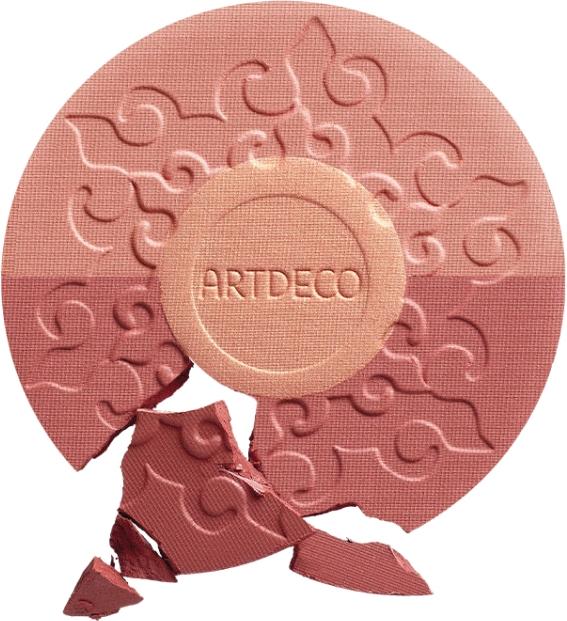 Artdeco Bronzing Blush Sunset Limited Edition 2019 - Dreifarbiges Rouge — Bild N3