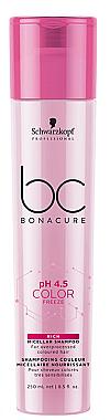 Mizellenshampoo für gefärbtes Haar - Schwarzkopf Professional Bonacure Color Freeze Rich Micellar Shampoo — Bild N1