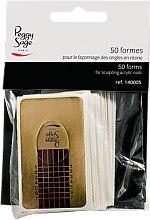 Düfte, Parfümerie und Kosmetik Schablonen zur Nagelverlängerung 50 St. - Peggy Sage Nail Formes