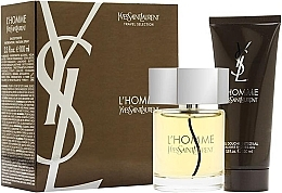 Düfte, Parfümerie und Kosmetik Yves Saint Laurent L'Homme - Duftset (Eau de Toilette 100ml + Duschgel 100ml)