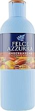 Düfte, Parfümerie und Kosmetik Pflegendes Duschgel mit Amber und Argan - Felce Azzurra Ambra & Argan Nourishing Essence