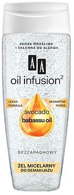 Mizellen-Reinigungsgel zum Abschminken mit Avocado und Babassuöl - AA Oil Infusion Micellar Cleansing Gel  — Bild N1