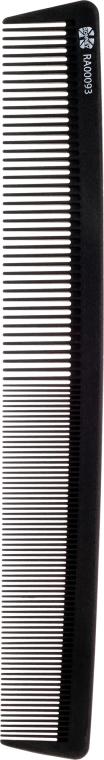 Professioneller Haarkamm aus hochwertigem Kunststoff 22,2 cm - Ronney Professional Carbon Line 093 — Bild N1