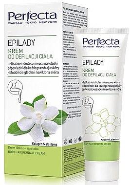 Enthaarungscreme für Körper mit Kollagen und Allantoin - Perfecta Epilady — Bild N1