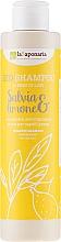 """Düfte, Parfümerie und Kosmetik La Saponaria Salvias & Limone Bio Shampoo - Shampoo für fettiges Haar """"Salbei & Zitrone"""""""