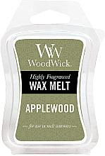 Düfte, Parfümerie und Kosmetik Tart-Duftwachs Applewood - WoodWick Mini Wax Melt Applewood Smart Wax System