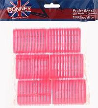 Düfte, Parfümerie und Kosmetik Klettwickler 44/63 mm rosa 6 St. - Ronney Professional Velcro Roller