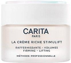 Düfte, Parfümerie und Kosmetik Reichhaltige Anti-Aging Liftingcreme für das Gesicht - Carita La Creme Riche Stimulift
