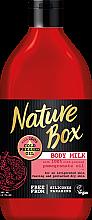 Düfte, Parfümerie und Kosmetik Belebende Körpermilch für trockene Haut mit Granatapfelöl - Nature Box Pomegranate Oil Body Milk