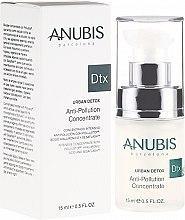 Düfte, Parfümerie und Kosmetik Gesichtskonzentrat gegen Verschmutzungen mit Hyaluronsäure - Anubis Dtx Urban Detox Anti-Pollution Concentrate