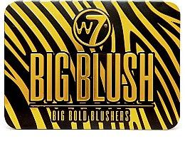 Düfte, Parfümerie und Kosmetik Rouge-Palette mit 6 Farben - W7 Big Blush 6 Big Bold Blushers