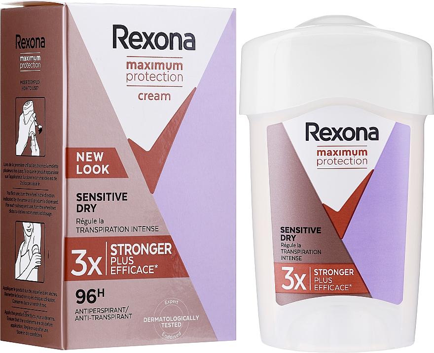 Deostick Antitranspirant - Rexona Maximum Protection Sensitive Dry — Bild N2