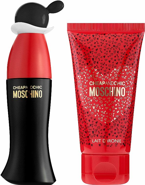 Moschino Cheap and Chic - Duftset (Eau de Toilette/30ml + Körperlotion/50ml) — Bild N2