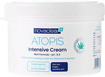 Feuchtigkeitsspendende Gesichts- und Körpercreme - Novaclear Atopis Intensive Cream — Bild N6