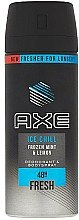 "Düfte, Parfümerie und Kosmetik Deospray ""Ice Chill"" - Axe Ice Chill Fresh Deodorant"