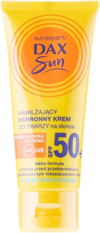 Sonnenschutzcreme mit Arganöl SPF 50 - DAX Sun Protective Face Cream SPF 50 — Bild N1