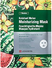Düfte, Parfümerie und Kosmetik Feuchtigkeitsspendende Tuchmaske mit Wassermelone - Leaders 7 Wonders Kalahari Melon Moisturizing Mask