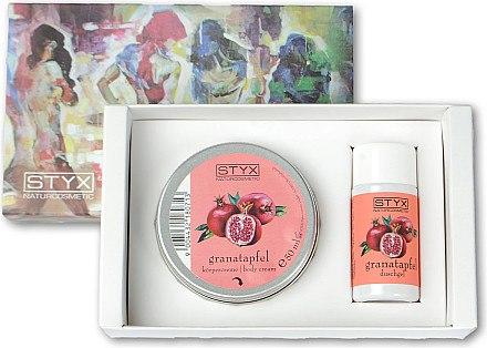 Körperpflegeset - Styx Naturcosmetic Granatapfel (Duschgel 30ml + Körpercreme 50ml) — Bild N1