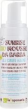Düfte, Parfümerie und Kosmetik Bio-Rasiermousse für alle Hauttypen - La Saponaria Sunrise Bio Mousse Da Barba