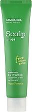 Düfte, Parfümerie und Kosmetik Maske für die Kopfhaut mit Rosmarin - Aromatica Rosemary 3-in-1 Scalp Treatment