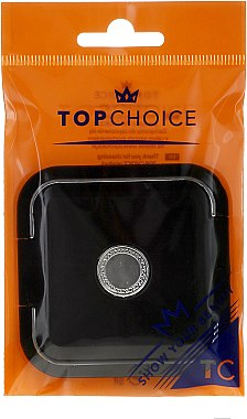 Doppelseitiger Taschenspiegel schwarz 5541 - Top Choice — Bild N1