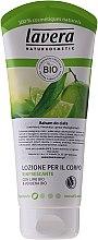Düfte, Parfümerie und Kosmetik Erfrischende Körperlotion mit Limette und Verbene - Lavera Organic Lime & Verbena Body Lotion