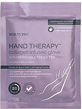 Anti-Aging Handmaske - BeautyPro Hand Therapy Collagen Infused Glove — Bild N1