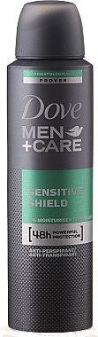 Deospray Antitranspirant - Dove Men + Care Antiperspirant Deodorant Sensitive Care — Bild N1