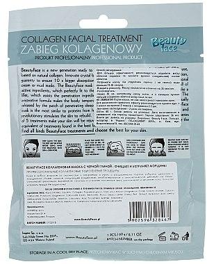 Antibakterielle Gesichtsmaske mit Kollagen - Beauty Face Collagen Hydrogel Mask — Bild N2
