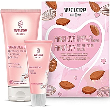 Düfte, Parfümerie und Kosmetik Körperpflegeset mit Mandel - Weleda Mandel Sensitiv Set (Duschcreme 200ml + Handcreme 50ml)