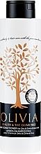 Düfte, Parfümerie und Kosmetik Pflegender Conditioner für trockenes und dehydriertes Haar mit Olivenextrakt - Olivia Beauty & The Olive Tree Hair Conditioner Dry & Dehydrated Hair