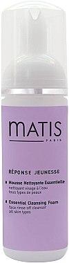 Sanfter Gesichtsreinigungsschaum - Matis Reponse Jeunesse Essential Cleansing Foam — Bild N1